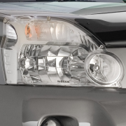 Защита фар для Nissan X-Trail T31 (2007 - 2014)