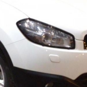 Защита фар (2010+) для Nissan Qashqai (2007 - 2014)