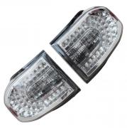 Задние фонари диодные (темный хром) для Toyota FJ Cruiser (2006 - ...)