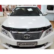 Мухобойка (дефлектор капота) для Toyota Camry 50 (2012 - ...)