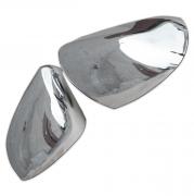 Хром накладки на зеркала для Nissan Qashqai (2007 - 2014)