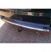 Накладка на задний бампер с загибом для Volkswagen Transporter T5 (2004 - 2009)