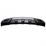Накладка под задний бампер для Hyundai Accent (2011 - ...)
