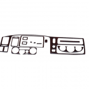 Декор салона (1997 - 2003) для Mitsubishi Pajero Sport (1997 - 2008)