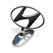 Эмблема на капот для Hyundai Santa Fe (2002 - 2005)