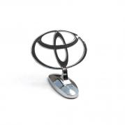 Эмблема капота (прицел) для Toyota Auris (2007 - 2012)