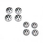 Заглушки в диски для Volkswagen Passat B6 3C (2005 - 2010)