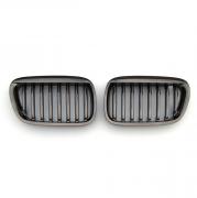Решетка радиатора темный хром (2000 - 2003) для BMW X5 E53 (1999 - 2006)