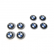Заглушки в диски для BMW X3 (2010 - ...)