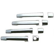 Хром на ручки дверей для Mercedes W202 (1993 - 2000)
