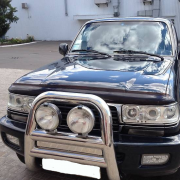 Дефлектор капота (мухобойка) для Toyota Land Cruiser 80 (90 - 97)