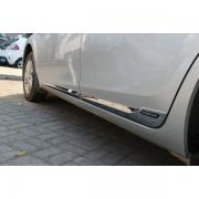 Хром молдинги дверей для Toyota Corolla (2013 - ...)