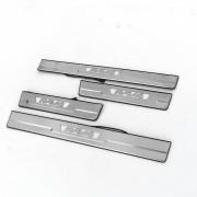 Накладки на пороги с подсветкой для Toyota RAV4 (2013 - ...)
