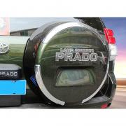 Наклейка на чехол запасного колеса для Toyota Prado 120 (2003 - 2008)