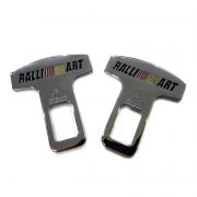 Защелки ремней безопасности RALLI ART для Mitsubishi Lancer X (2007 - ...)
