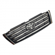 Решетка радиатора черная с хромом (2013+) для Toyota Prado 150 (2009 - 2017)