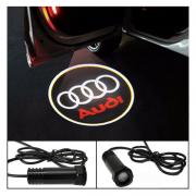 Проектор логотипа (врезной) для Audi A4 (2008 - 2015)
