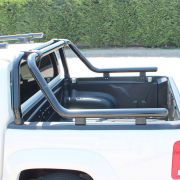 Дуга в багажник (76 мм, черная) для Volkswagen Amarok (2010 - ...)