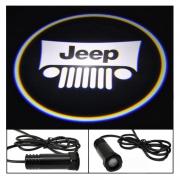 Проектор логотипа (врезной) для Jeep Wrangler (2007 - ...)