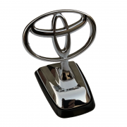 Эмблема капота на ножке для Toyota Prado 150 (2018 - ... )