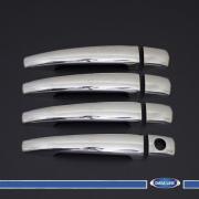 Хром на ручки дверей для Citroen C4 (2005 - 2010)