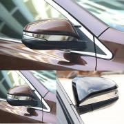 Хром окантовки зеркал для Toyota RAV4 (2013 - ...)