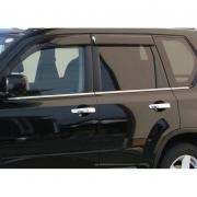 Нижние молдинги окон для Nissan X-Trail T31 (2007 - 2014)