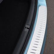 Накладка на задний бампер (универсал) для Volkswagen Passat B7 (2010 - 2015)