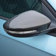 Накладки на зеркала (карбон) для Volkswagen Passat B7 (2010 - 2015)
