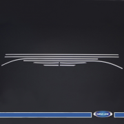 Окантовка стекол (5D) для Seat Leon III (2012 - ...)