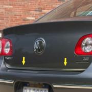 Молдинг на край багажника для Volkswagen Passat B6 3C (2005 - 2010)
