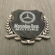 Эмблема герб карбон для Mercedes W221 (2007 - ...)