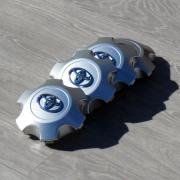 Заглушки в диски для Toyota Prado 150 (2018 - ... )