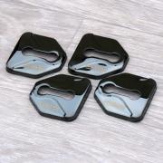 Накладки на петли замков дверей для Subaru Forester (2008 - 2012)