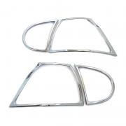 Хром на задние фонари для Volkswagen Golf 5 (2003 - 2009)
