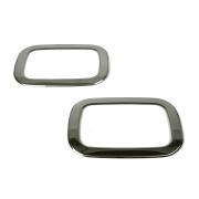 Хром накладки на задние противотуманки для Mercedes Gelandewagen (1986 - 2012)