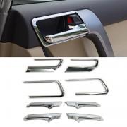 Окантовки и накладки на ручки салона для Toyota Prado 150 (2018 - ... )