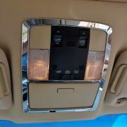 Хром кант подсветки салона для Toyota Prado 150 (2018 - ... )
