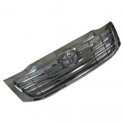 Решетка радиатора тонированный хром (2012+) для Toyota Hilux (2006 - 2015)