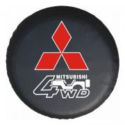 Чехол запаски для Mitsubishi Pajero 4 (2007 - ...)