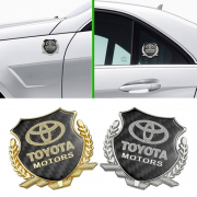 Эмблема герб карбон для Toyota Auris (2007 - 2012)