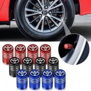 Цветные колпачки на ниппеля для Toyota RAV4 (2013 - ...)