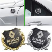 Эмблема герб карбон для Renault Captur (2013 - ...)