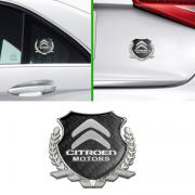 Эмблема герб карбон для Citroen C4 Picasso (2013 - ...)