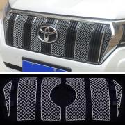 Накладки на решетку радиатора стиль Bentley для Toyota Prado 150 (2018 - ... )