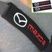 Чехлы на ремни для Mazda 3 (2013 - ...)