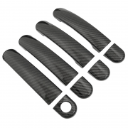 Накладки на ручки карбон для Volkswagen Golf 5 (2003 - 2009)