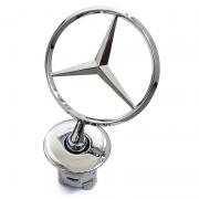 Прицел эмблема капота, логотип на ножке для Mercedes W221 (2007 - ...)