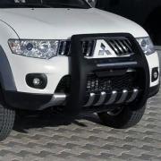 Защита бампера кенгурятник высокий для Mitsubishi L200 (2006 - 2015)
