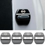 Накладки на петли замков дверей для Nissan Murano (2008 - 2014)